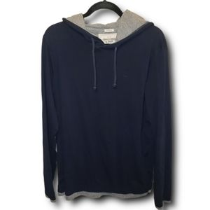 Abercrombie & Fitch Layered Long Sleeves Hoodie XL